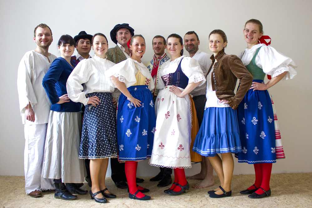Original members of Jitřenka after 20 years